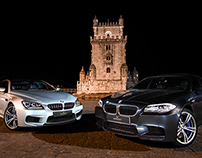 BMW M5 (F10) & BMW M6 GranCoupe (F12) Photoshoot
