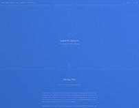 Portfolio Blueprint/Wireframe
