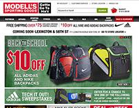 Modells.com Campaign Designs