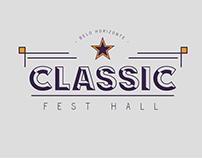 Classic Fest Hall - Logotipo