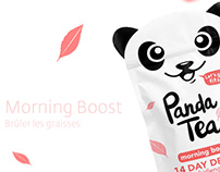 Panda Tea - Packaging