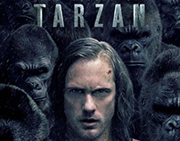 THE LEGEND OF TARZAN IMAX Poster