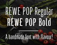 REWE Dein Markt | Display Typeface for campaign