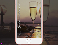 Anniversary - Wedding - Honeymoon Snapchat Geofilter