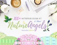 100+ Watercolor Design Creator Kit
