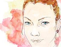 Portrait of Juliana Buhring