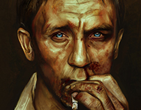 Daniel Craig (with process)