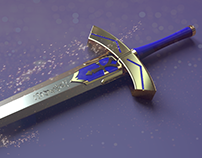 fan art excalibur