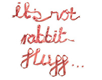 It's not rabbit fluff...