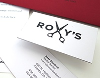 Roxy's Barber Shop Branding & Stationery