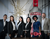 Smirnoff The other side ads
