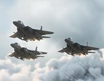 F-15 Jets Fighter   Full CGI