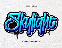 Skylight Graffiti