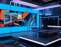 TV Set Design. Рен ТВ оформление