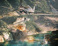 Flying Tigers - Game Art