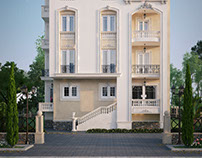 classic residential building
