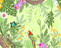 Biodiversity Illustration for Soñaderno
