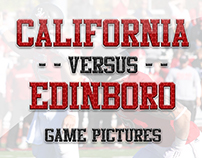 CalU vs Edinboro Football