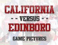 CalU vs Edinboro Football