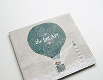 """CD album art work for """"the Lost Art"""""""