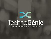 TechnoGénie / Réalisation de l'identité corporative