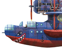 Iron Kraken - Concept Design