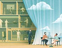 Tables Turned - Editorial Illustrations