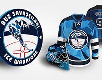 Ice Warriors Hockey Club - Branding