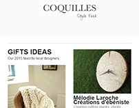 Coquilles Newsletter