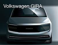 Volkswagen GIRA - Concept Car Front End Design.