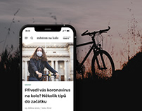 Online magazine about cycling