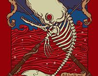 Mastodon - Dead Whale Event Poster