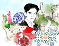 Teodora, la niña que quería ser ilustradora.