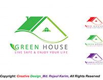 Green House Logo Design #01 January 2019