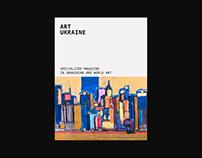 Ukrainian magazine - redesign