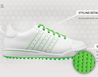 Adidas Golf Web Banners