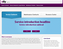 Ally GMAC Website Rebrand