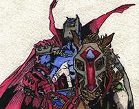 Comics illustration Medieval Spawn