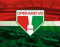 Redesign - OPERÁRIO/MT [Time de Futebol]