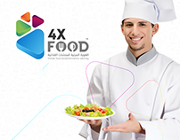4X Food Logo