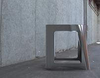 Flexible Metal Chair