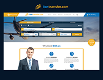 Booking Website for Lion Transfer Taxi Services