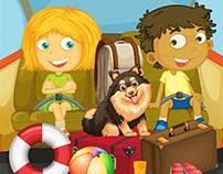 Kids book illustration services
