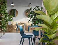 Coffee&Roll cafe interior