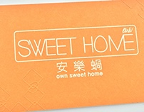 Own sweet home supermarket brand design