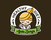 Healthy Diet - Agata Zacheja / Logo Design