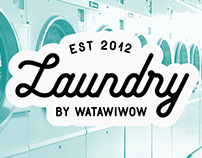 Laundry by Watawiwow - Logo and Business Card Design