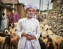 Portraits from the village of Deomali