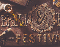 Brew and Food Festival Lettering