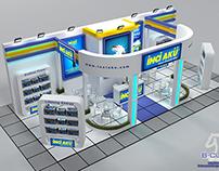 İnci Akü  - Exhibition Booth  - Turkey 2014